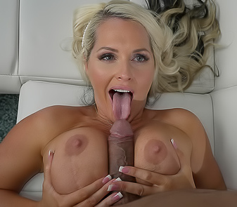 Hot Mommy Alena Croft Deep Throat